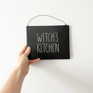 ✨ NWT RARE US Exclusive Witch's Kitchen Sign   Rae Dunn